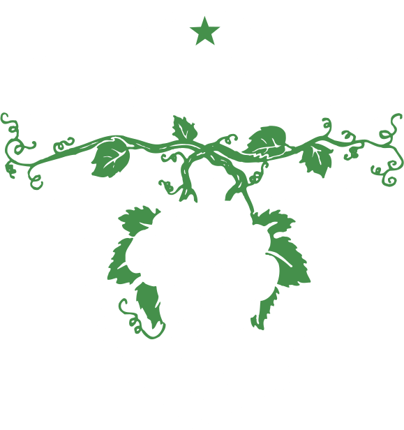 Grapevine Texas reversed logo